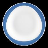 Trio Frühstücksteller 23 cm Blau
