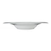 Savoy Teller tief eckig 24,5 cm weiß