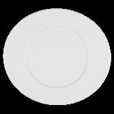 Mandarin Teller flach oval 37,5 cm weiß