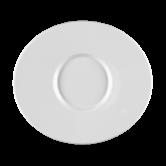 Mandarin Eventteller flach oval 25 cm weiß
