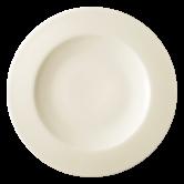 Diamant Teller flach 26 cm cream