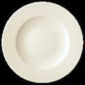 Diamant Teller flach 29 cm cream