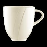 Diamant  Milchkaffeetasse Tulpe cream