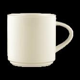 Diamant  Milchkaffeetasse cream