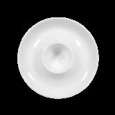 Meran Eierbecher mit Ablage weiß
