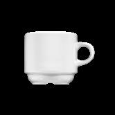 Meran Kaffeetasse 2 0,16 l weiß