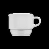 Meran Kaffeetasse 3 weiß