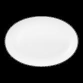 Lido Platte oval 35 cm Black Line