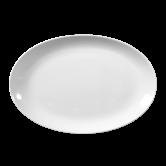 Rondo / Liane Platte oval 28 cm weiß