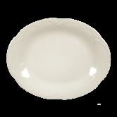 Rubin Platte oval 31 cm cream