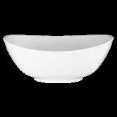 Modern Life Schüssel oval 25,5 cm weiß