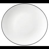 Modern Life Speiseteller oval 5192  29 cm Black Line