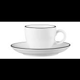 Modern Life Espressotasse 1132 0,09 l m. Untertasse Black Line