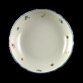 Marie-Luise Salatschale 16 cm Streublume blauer Rand
