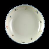 Marie-Luise Salatschale 19 cm Streublume blauer Rand