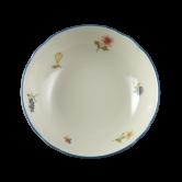 Marie-Luise Dessertschale 15 cm Streublume blauer Rand