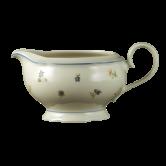 Marie-Luise Sauciere 0,6 l Streublume blauer Rand