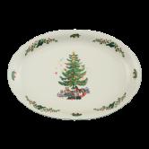 Marie-Luise Platte oval 35 cm Weihnachten