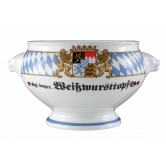 """Compact Terrine Löwenkopf ohne Deckel """"Weißwursttopf"""" 2,00 l Bayern"""