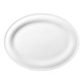 Beat Servierplatte oval 31x24 cm weiß