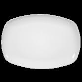 Sketch Basic Platte eckig 35 cm weiß