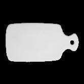 Lukullus Brotbrett 27 cm weiß