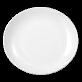 Modern Life Teller oval 27 cm weiß