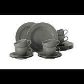 Beat Kaffeeservice 18-teilig BTR Glaze Perlgrau