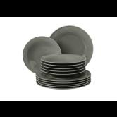 Beat Tafelservice 12-teilig BT Glaze Perlgrau
