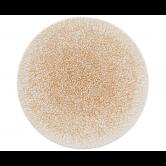 Life Speiseteller rund 28 cm Molecule Amber Gold Light