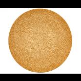 Life Speiseteller rund 28 cm Molecule Amber Gold