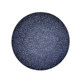 Life Frühstücksteller rund 22,5 cm Molecule Denim Blue