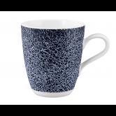 Life Becher mit Henkel 0,40 l Molecule Denim Blue