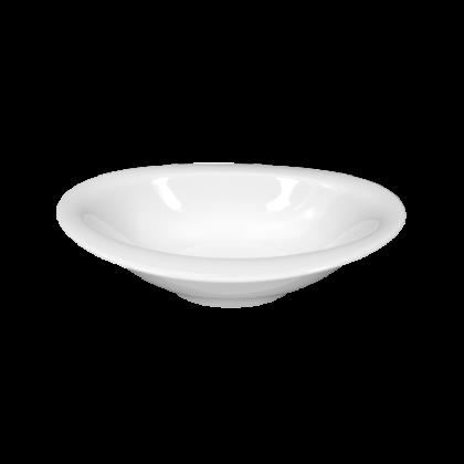 Top Life Schale oval 17 cm weiß