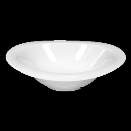 Top Life Schale oval 25 cm weiß