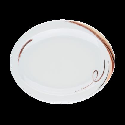 Top Life Teller oval (Frühstücksteller) 25 cm Aruba