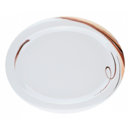 Top Life Teller oval (Platte) 31,5 cm Aruba