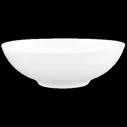 Life Schüssel rund 30 cm weiß