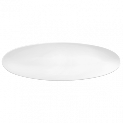 Life Servierplatte schmal 44x14 cm weiß