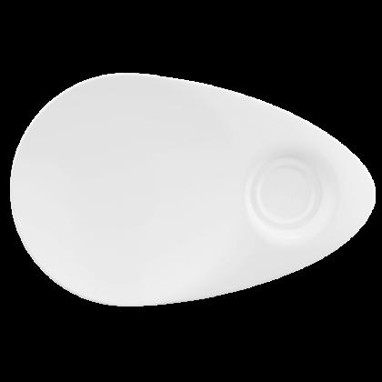 Life Snackplatte 29x19 cm weiß
