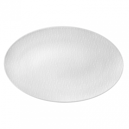 Life Servierplatte oval 40x26 cm Fashion Luxury White