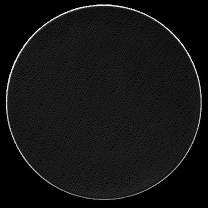 Life Servierplatte rund flach 33 cm Fashion Glamorous Black