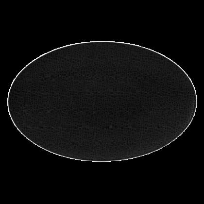 Life Servierplatte oval 40x26 cm Fashion Glamorous Black