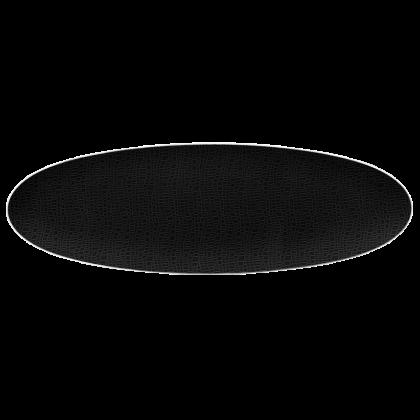 Life Servierplatte schmal 44x14 cm Fashion Glamorous Black