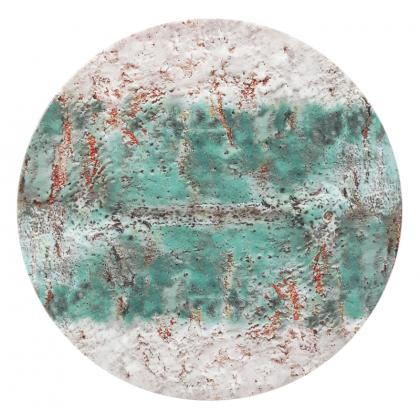 Life Servierplatte rund flach 33 cm Diversity