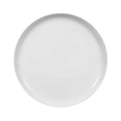 Sketch Basic Teller flach rund 26 cm weiß