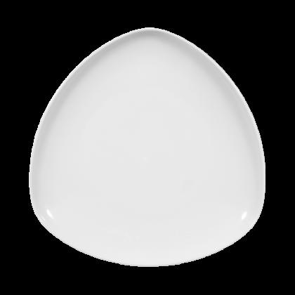 Sketch Basic Teller flach dreieckig 26 cm weiß
