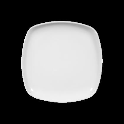Sketch Basic Teller flach eckig 17 cm weiß