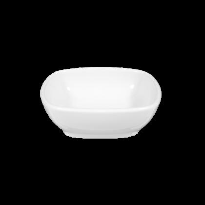 Sketch Basic Dipschälchen nieder eckig 2,5 cm weiß