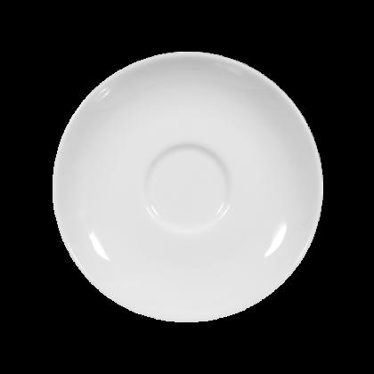 Sketch Basic Mocca-Untertasse rund 12 cm weiß